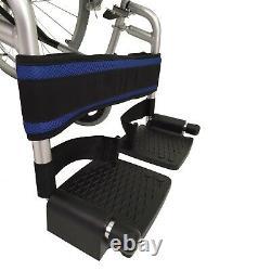 Lightweight folding narrow self propelled wheelchair hand brakes ECSP01-16 DEMO