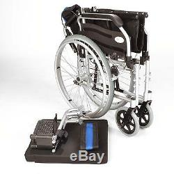 Lightweight folding self propel wheelchair with hand brakes & 20 wide seat used