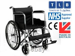 Lightweight self-propelled Folding Wheelchair for Disabled and Elderly