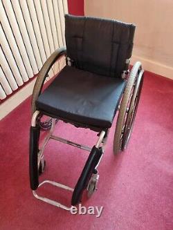 Lightweight wheelchair used