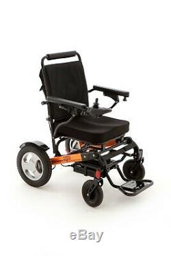 MM Healthcare Ezi Fold Aluminium Lightweight Electric Folding Wheelchair