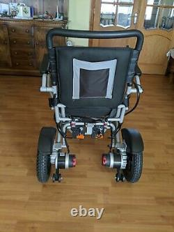 Mobility Plus + Electric Powered folding lightweight Wheelchair