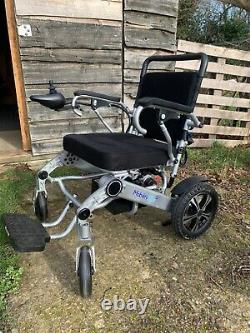 Mobility plus lightweight Electric folding wheelchair