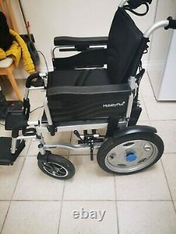 MobilityPlus+ Electric Powered Wheelchair Easy-Folding, Lightweight