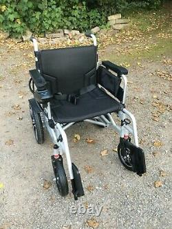 MobilityPlus+ Electric Powered Wheelchair Easy-Folding, Lightweight, 4mph
