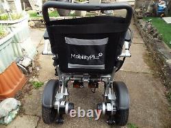 MobilityPlus+ Lightweight Electric Wheelchair Folding, 24kg, 4mph