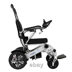 MobilityPlus+ Lightweight Electric Wheelchair Folding, 24kg. Inc. EXTRA Battery