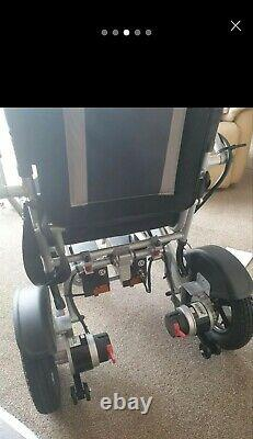 MobilityPlus+ Lightweight Electric Wheelchair Instant Folding, 24kg, 4mph