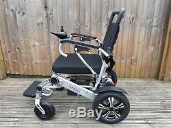 MobilityPlus+ Ultra Lightweight InstaFold Folding Electric Wheelchair 24kg, 4mph