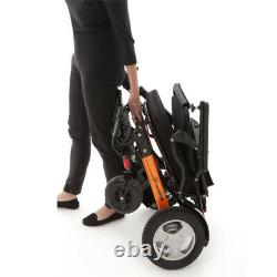 Monarch Mobility Ezi-Fold Lightweight Folding Electric Wheelchair