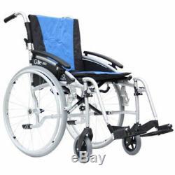NEW G-Lite Pro Folding Lightweight Self-Propelled Aluminium Wheelchair