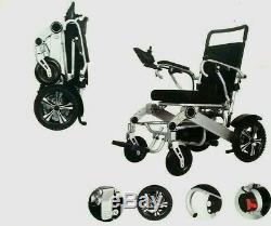 NEW Lightweight Electric Wheelchair Instant Folding, 26kg, 4mph