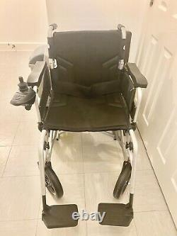NEW MobilityPlus+ Electric Powered Wheelchair Easy-Folding, Lightweight, 4mph