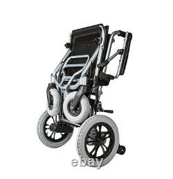NEW MobilityPlus+ Lightweight Electric Wheelchair Instant Folding, 22kg, 6mph