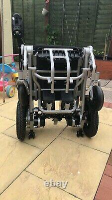 NEW MobilityPlus+ Lightweight Electric Wheelchair Instant Folding, 24kg