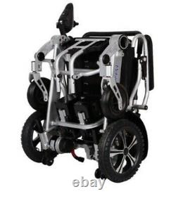 NEW MobilityPlus+ Lightweight Electric Wheelchair Instant Folding, 24kg, 4mph