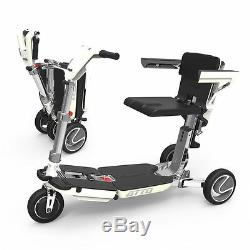 New ATTO Compact Lightweight Mobility Scooter Moving Life Wheelchair with Armrest