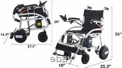New Fold and Travel Electric Wheelchair Medical Mobility Aid Power Wheel chair