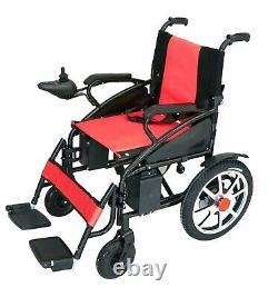 New Lightweight Electric Wheelchair Folding Heavy Duty Durable Power Wheel Chair