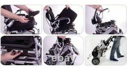 PRIDE i-Go Folding Powerchair Lightweight Electric Wheelchair