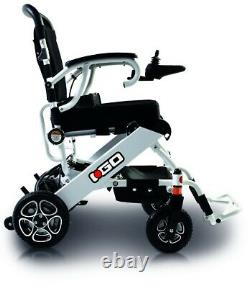 PRIDE i-Go Folding Powerchair Lightweight Electric Wheelchair with Joystick