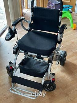 PRIDE i-Go Folding Powerchair Lightweight Electric Wheelchair with Joystick