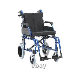 Padded Drive Enigma XS Lightweight Portable Transit Aluminium Wheelchair