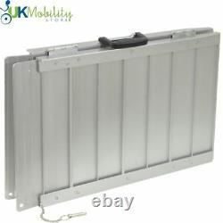 Portable Lightweight Folding Suitcase Access Ramp Mobility Wheelchairs Scooters