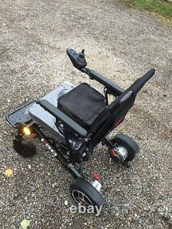 Pride I Go Fold Automatic Lightweight Folding Wheelchair Via Remote Control