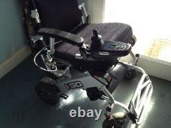 Pride I-Go Fold Lightweight Folding Electric Wheelchair, easy joy stick control