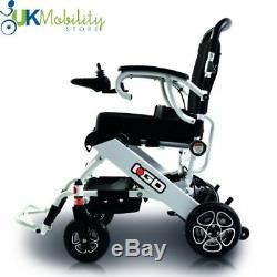 Pride I Go Transportable Lightweight Boot Folding Electric Powerchair Wheelchair