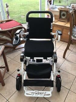 Pride I Go Transportable Lightweight Folding Electric Wheelchair Powerchair