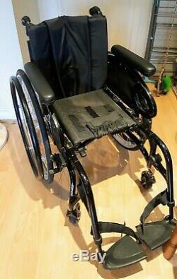 Quickie Xenon SA Wheelchair, lightweight folding Wheelchair, Quickie Wheelchair