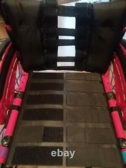 Quickie Xenon wheelchair folding frame nearly new pink sports active lightweight
