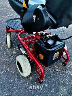 Shoprider Vienna Electric Wheelchair Folding Lightweight Free UK Courier
