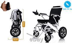 Smart Folding Lightweight Electric Wheelchair Mobility Chair Power Wheelchair