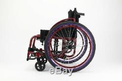 Sport Manual Disabled Wheelchair Strength Aluminium Lightweight 360 Degree Wheel
