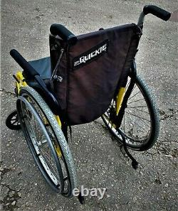 Sunrise Medical Quickie 2 Ultra-Lightweight Folding Wheelchair Self Propelled
