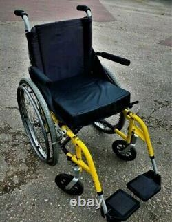 Sunrise Medical Quickie 2 Ultra-Lightweight Folding Wheelchair Self Propelled Ra