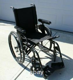 Sunrise Quickie 2 Light Weight Manual Folding Wheelchair 16 x 18'