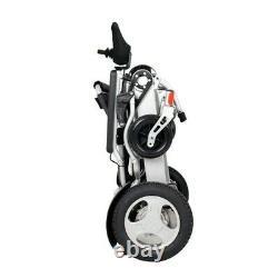 Super Heavy Duty Foldable, Lightweight Electric Wheelchair Kwk Folding