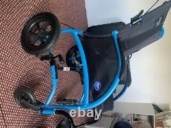 TGA folding duel pack powered lightweight strong posture wheelchair gd for hills