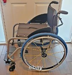 Tilite Titanium TX ultra lightweight folding manual wheelchair 17 x 17 Wide