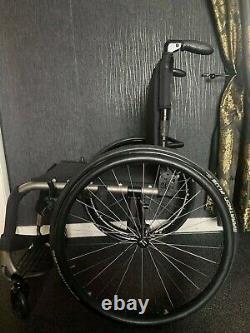 Tilite ZRA 2 Lightweight wheelchair 17 X 17 Satin frame