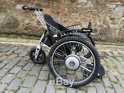 Trekinetic GTE Ultra Lightweight All-Terrain Power Wheelchair Carbon Fibre Seat