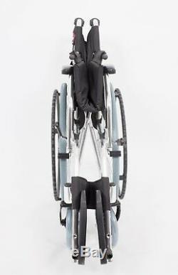 Ultra Lightweight Folding Transit Self Propel Aluminium Wheelchair 9KG