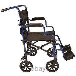 Ultra Lightweight Folding travel transit compact wheelchair in a bag ECTR05