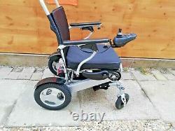 Ultra Lightweight InstaFold Folding Electric Wheelchair 24kg, 4mph