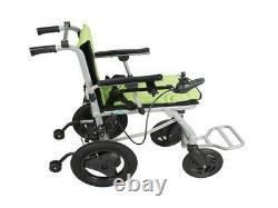 Ultra Lightweight Portable Folding Electric Power Old Elderly Wheelchair