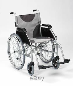 Ultra Lightweight aluminium folding self propel wheelchair extra wide 20 seat